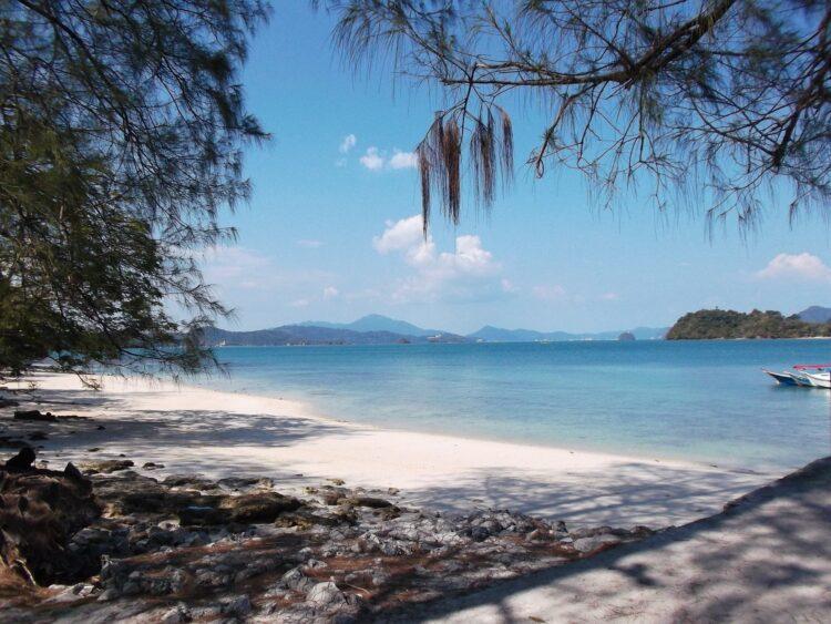 Langkawi beach, Malaysia