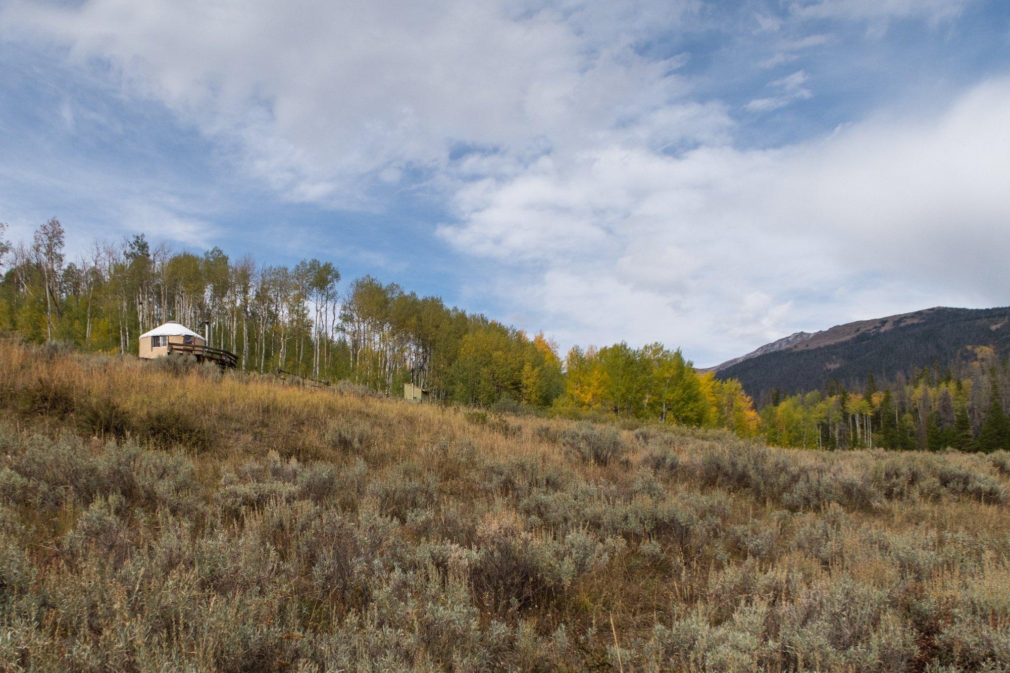 North Fork Canadian Yurt