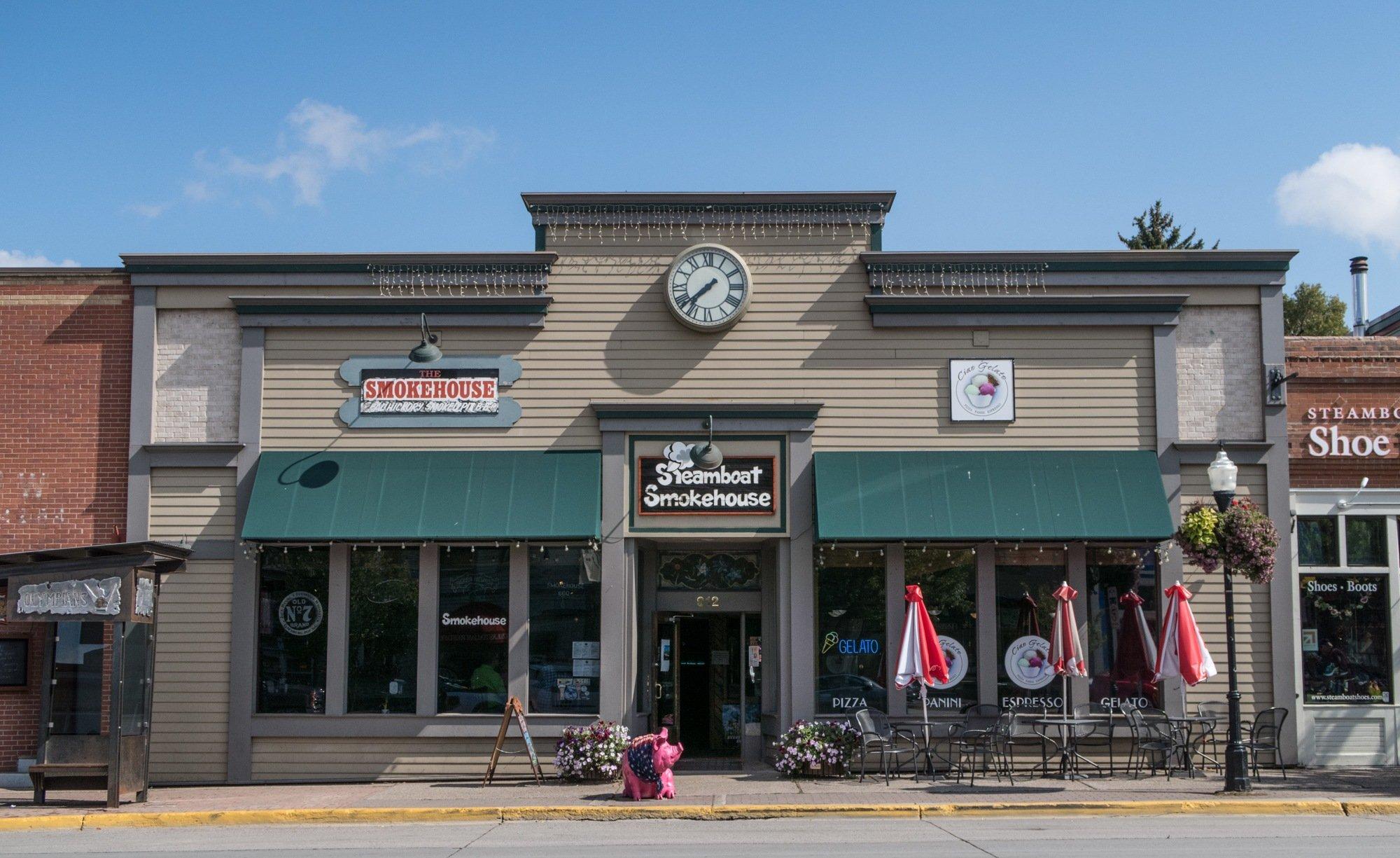 Steamboat Smokehouse restaurant