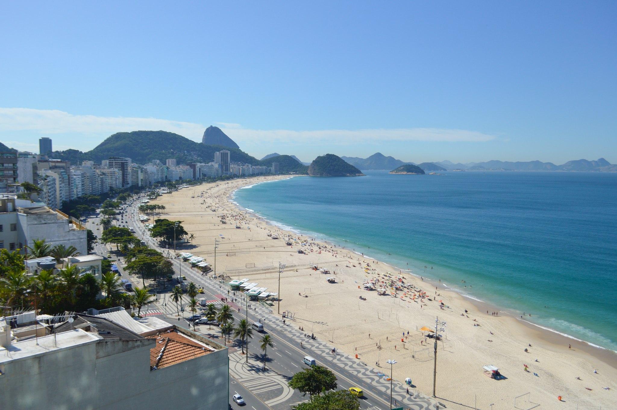 Copacabana Beach, Rio de Janeiro (photo: Francisco Anzola)