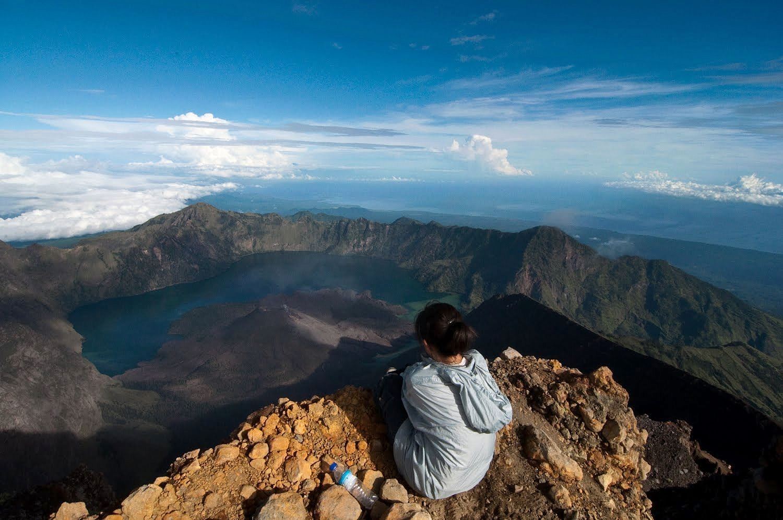 Mount Rinjani, Indonesia (photo: Trekking Rinjani)