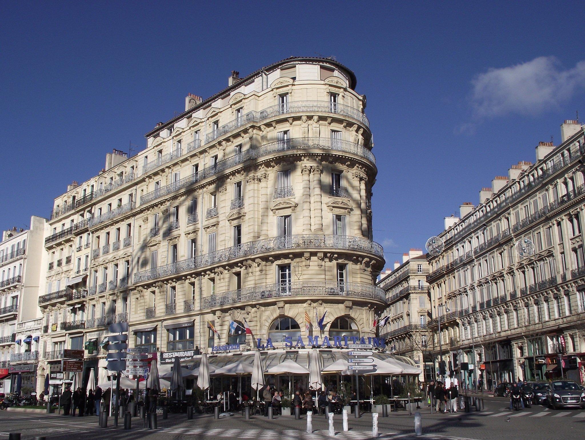 Hotel de Ville in Marseilles