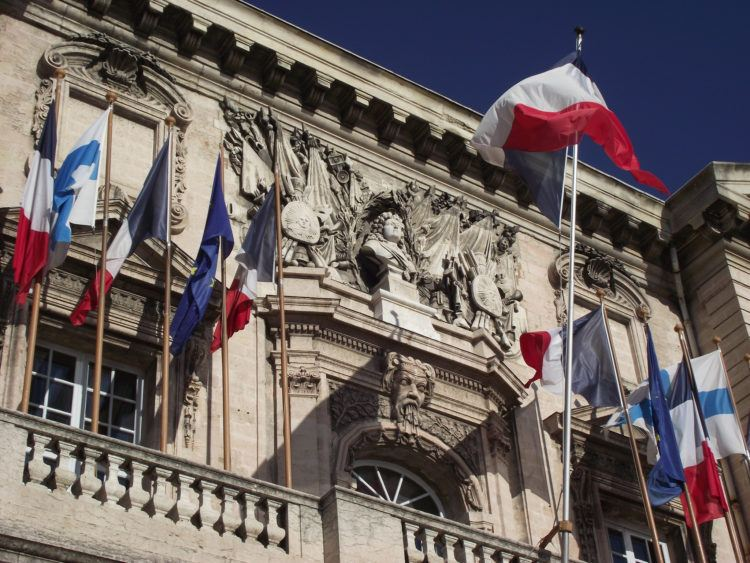 Facade of Marseilles City Hall