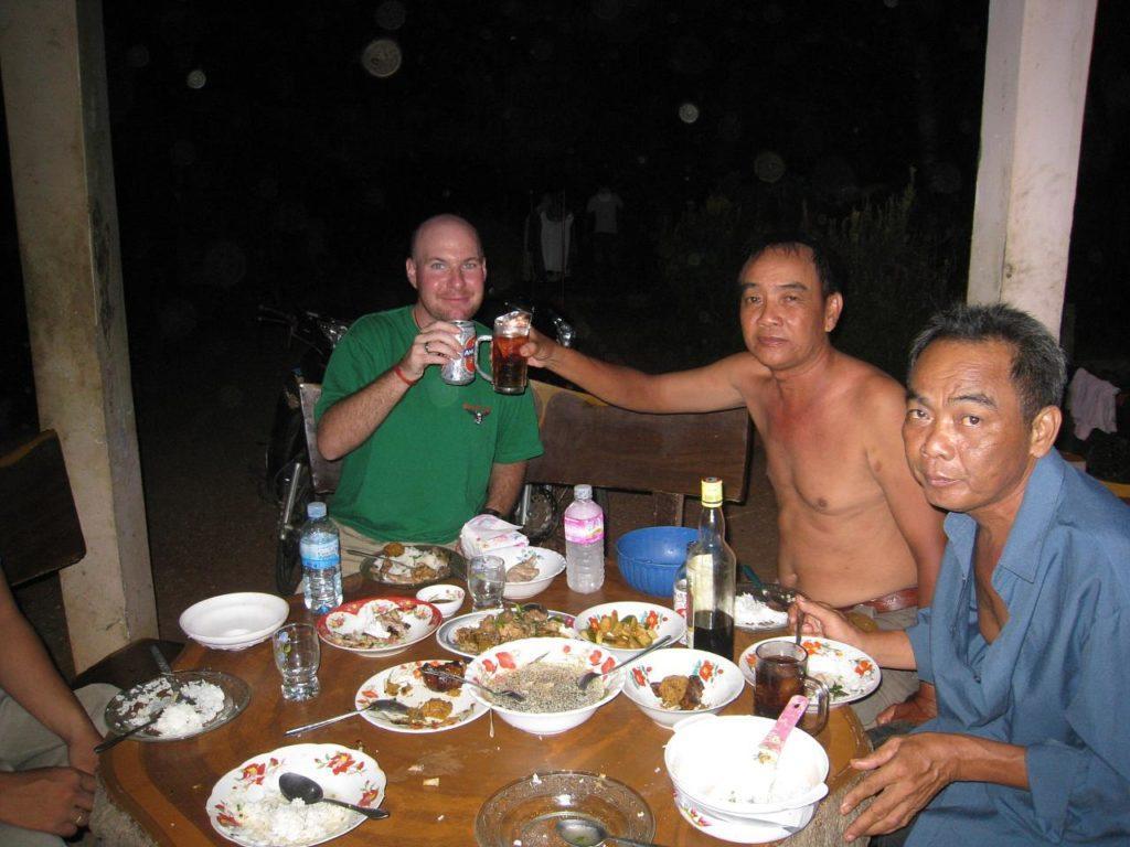 Cambodian dinner