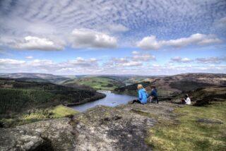 Views of the Dark Peak area from Bamford Edge (photo: Simon Harrod)