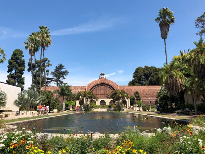 The Botanical Building at the heart of Balboa Park