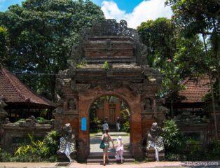 Temple in Ubud, Bali