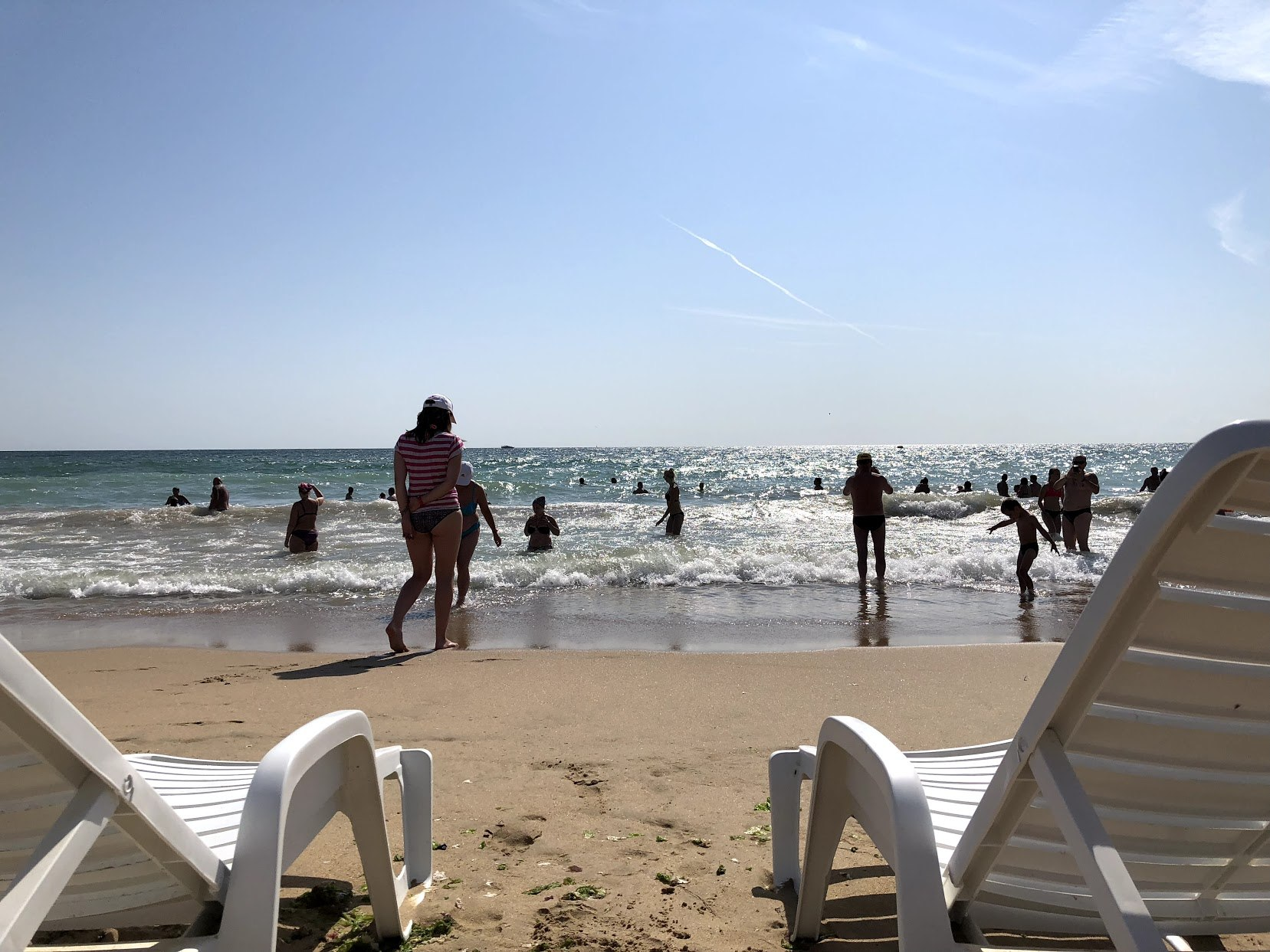 Saxa Beach is one of many Bulgaria beaches to choose from