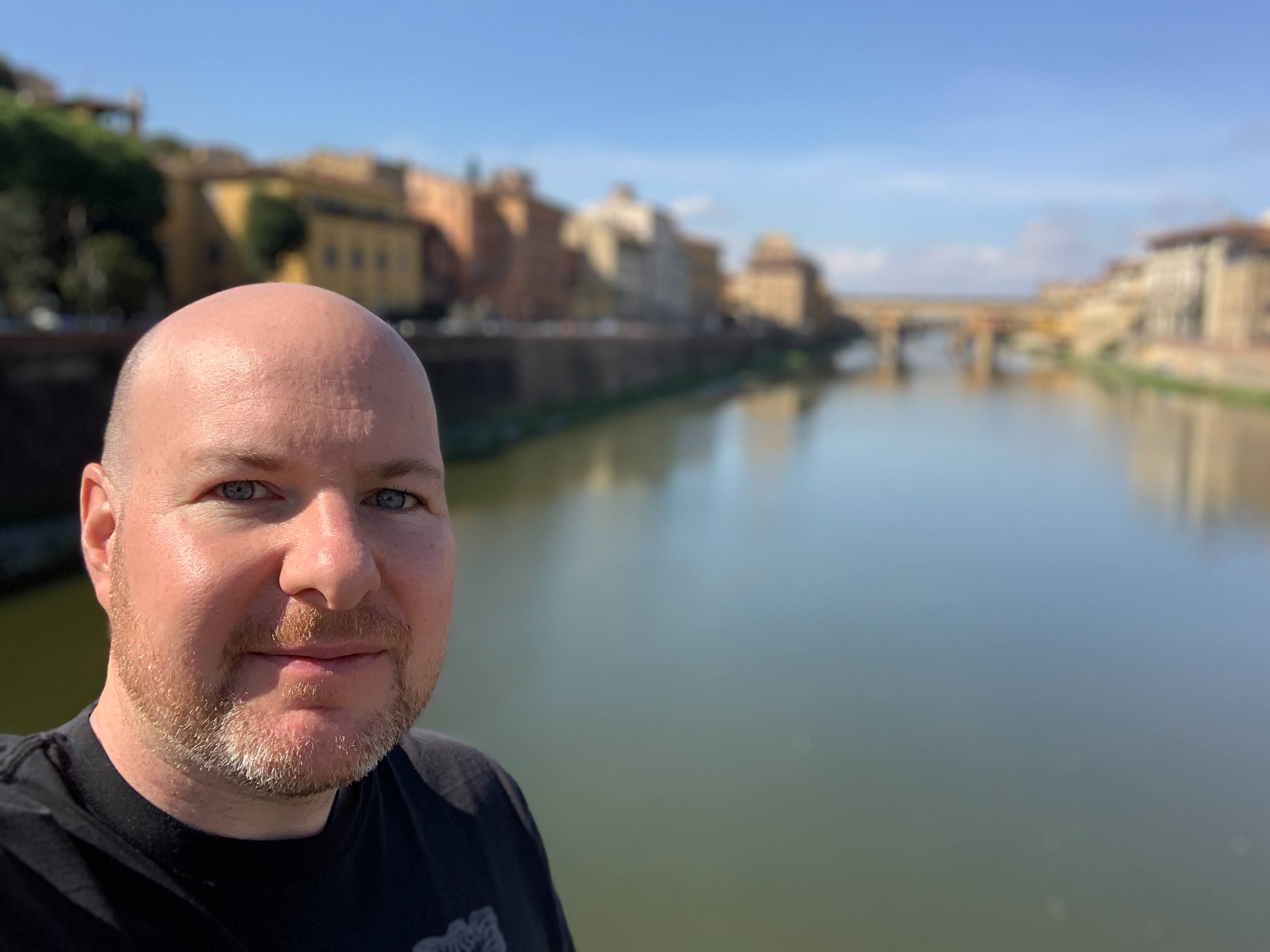 Dave in Florence, 2018