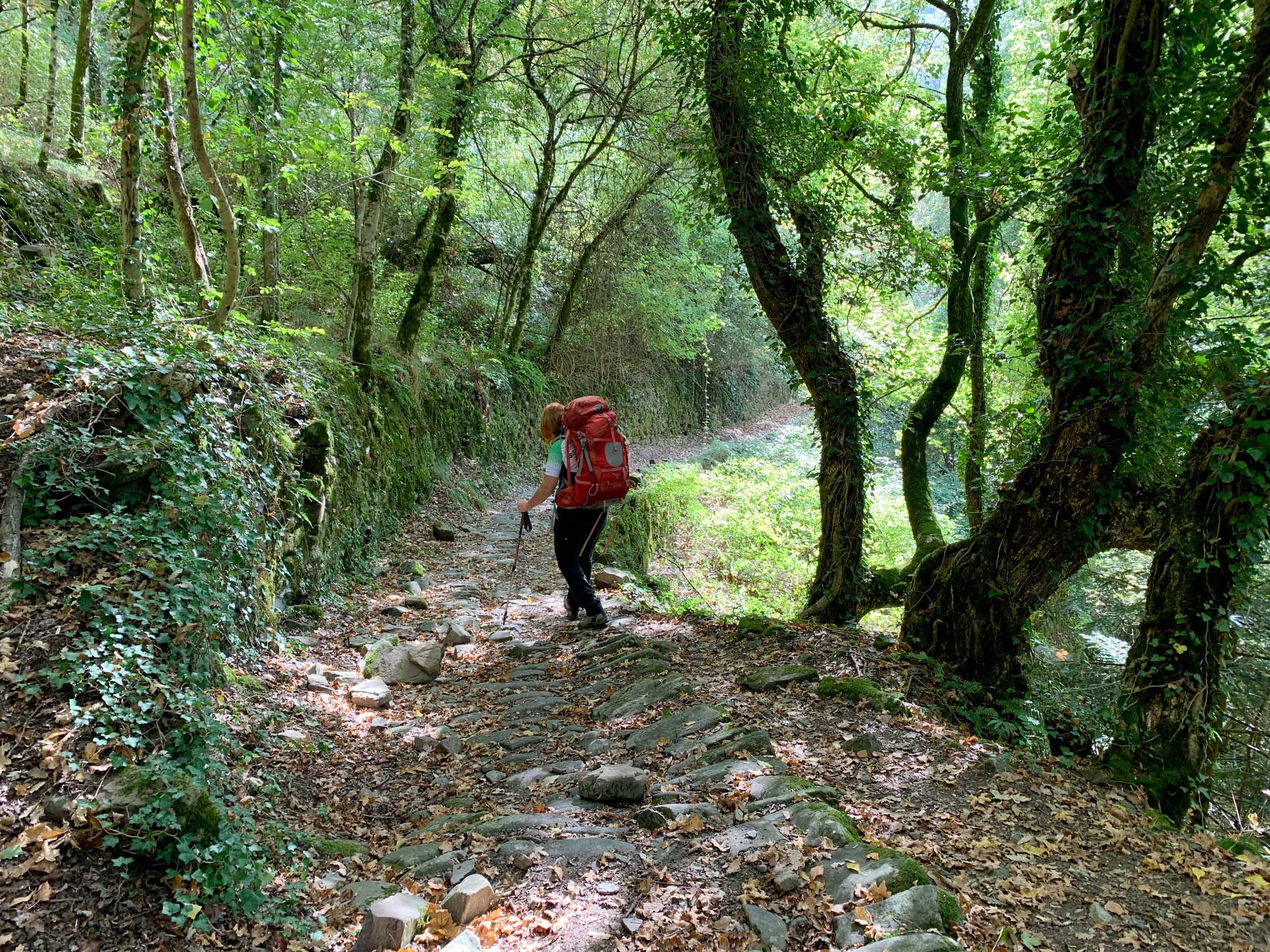 The Via Francigena in northern Tuscany