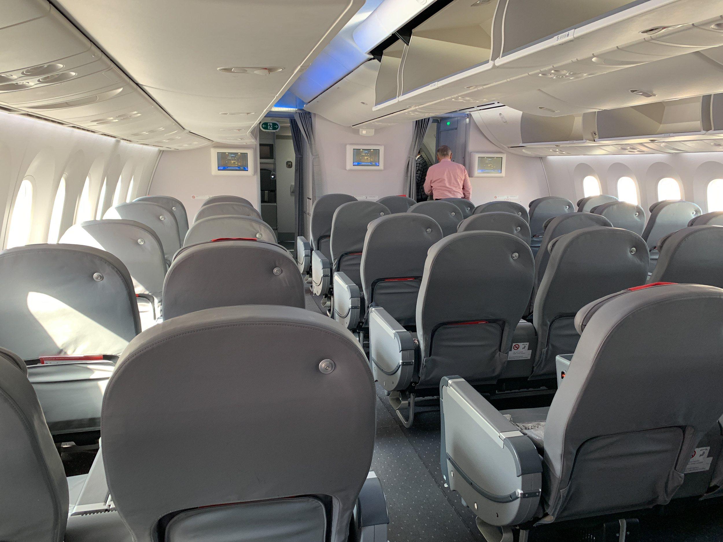 Norwegian Air 787 Premium seating cabin