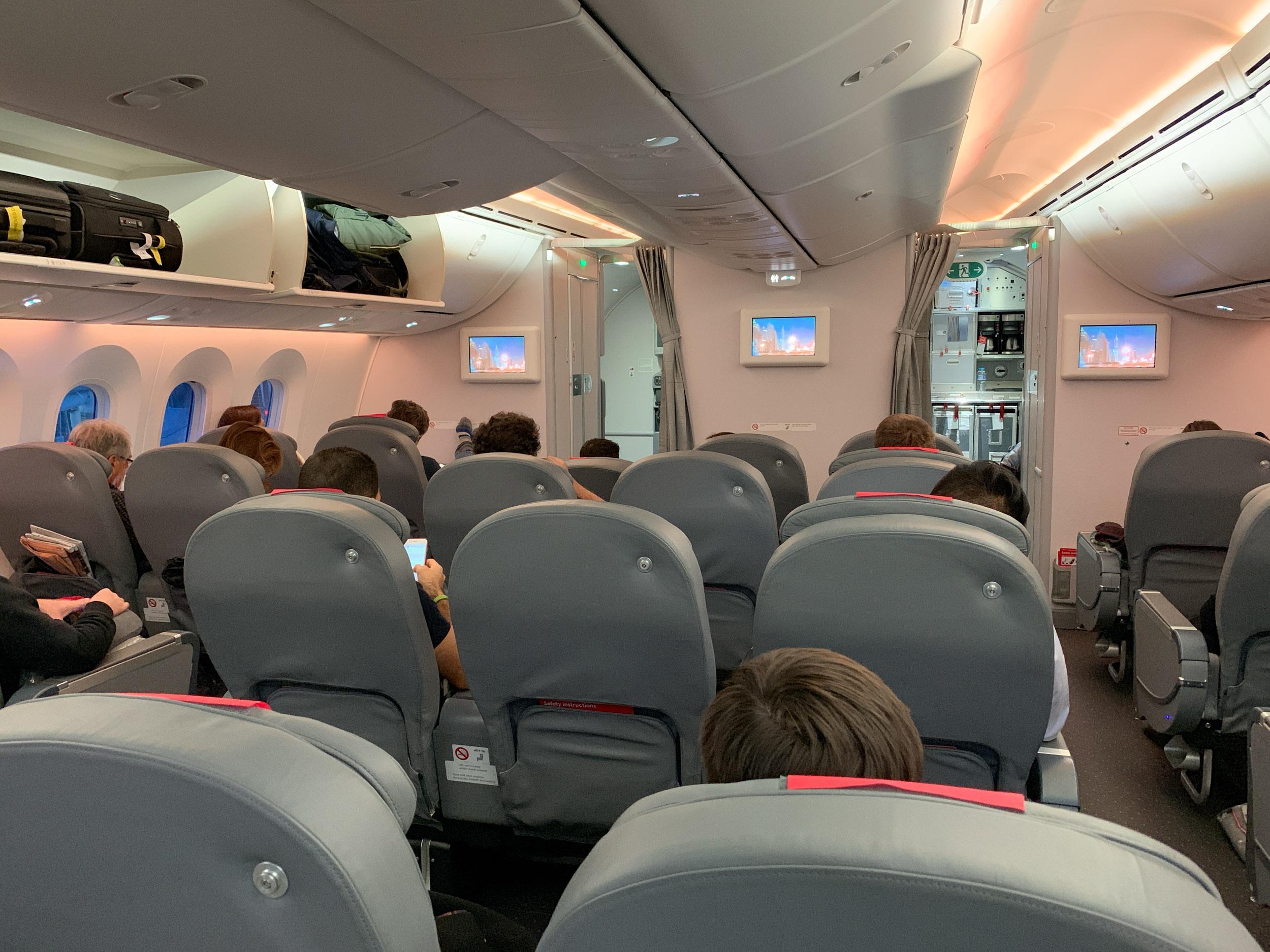 Norwegian Air Premium seating