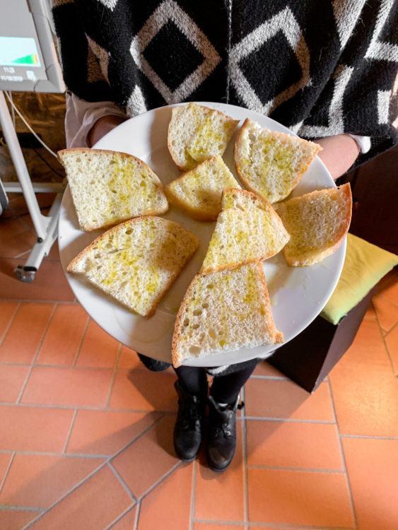 Honey chestnut bread with extra virgin olive oil