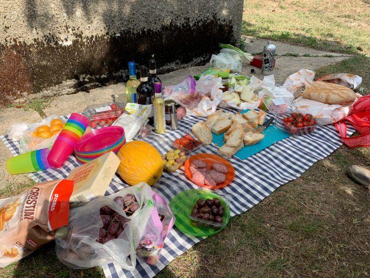 A true Tuscan picnic