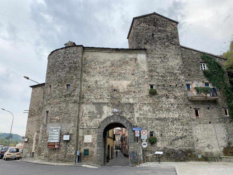 Entrance to Pontremoli