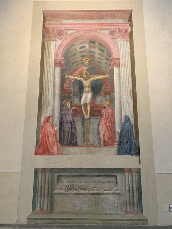 The Holy Trinity by Masaccio