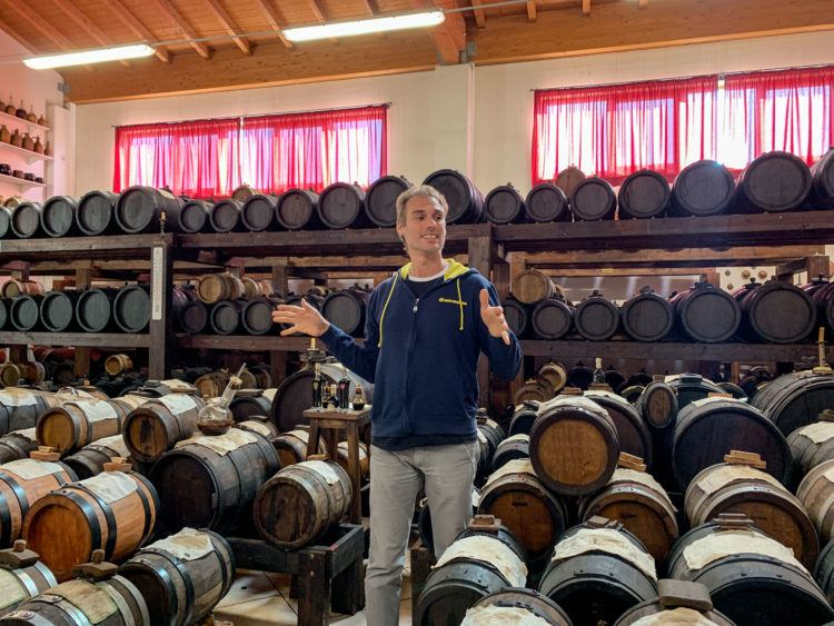 Learning about balsamic vinegar, one of my top food experiences in Emilia-Romagna, Italy