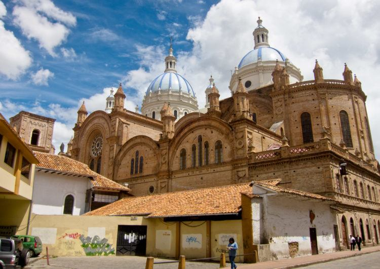 One of the top things to do in Cuenca is visit the Cathedral