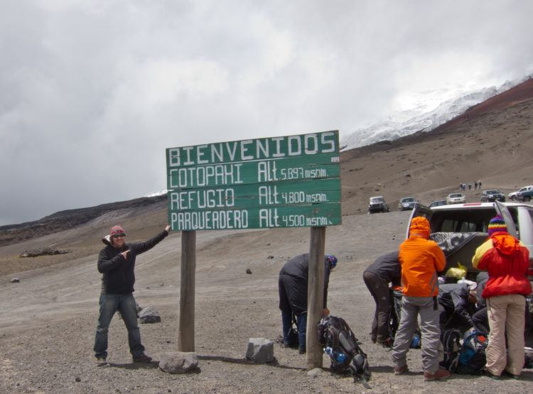 Welcome to Cotopaxi Volcano, Ecuador's second tallest at 5,897 meters.