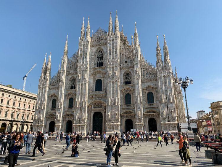 Duomo in Milan (photo: David Lee)