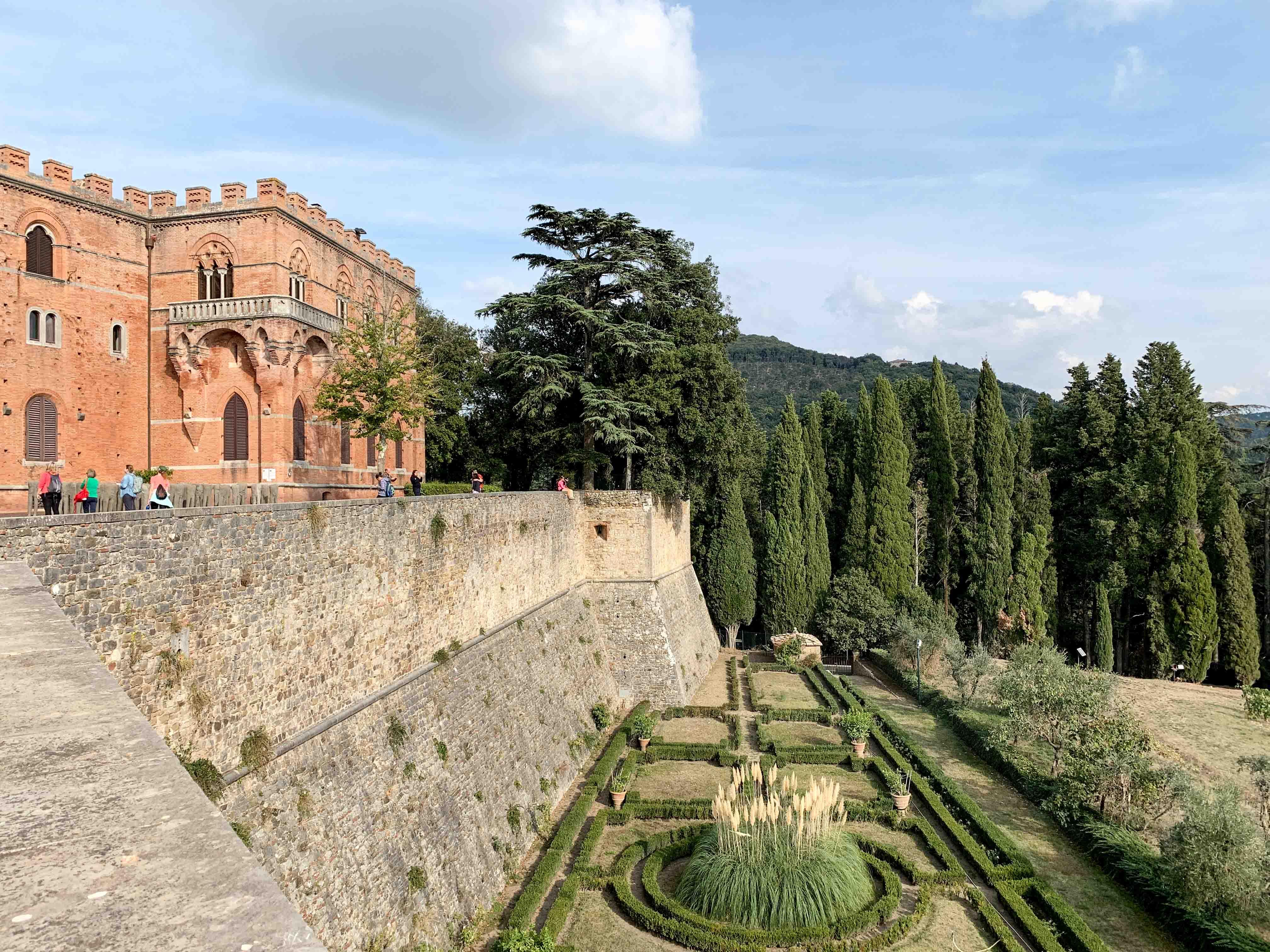 Exterior of Brolio Castle in Chianti