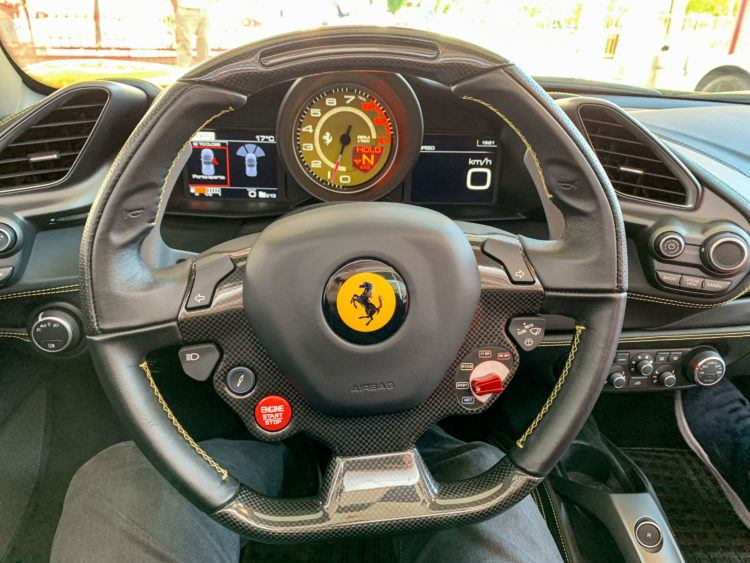 Driving a Ferrari in Italy is a once in a lifetime experience