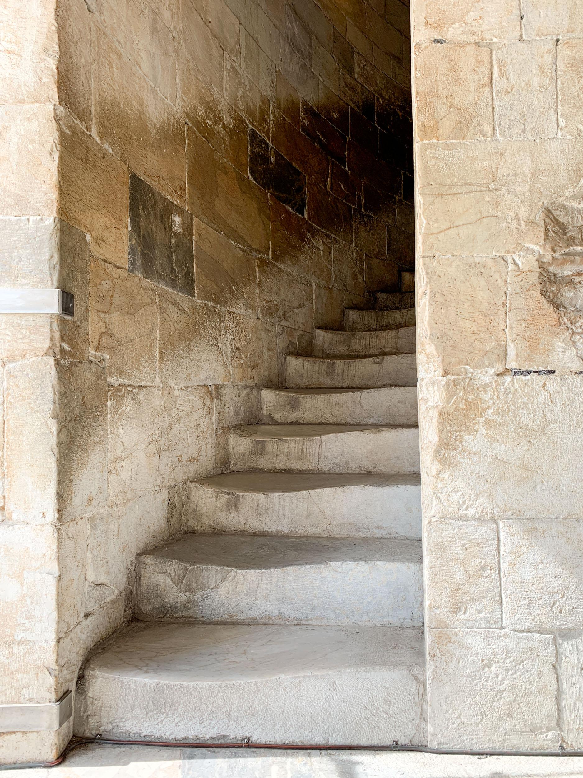 Staircase in the Leaning Tower of Pisa