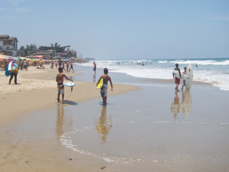 Surfing in Montanita is one of the top things to do in Ecuador for the adventurous traveler