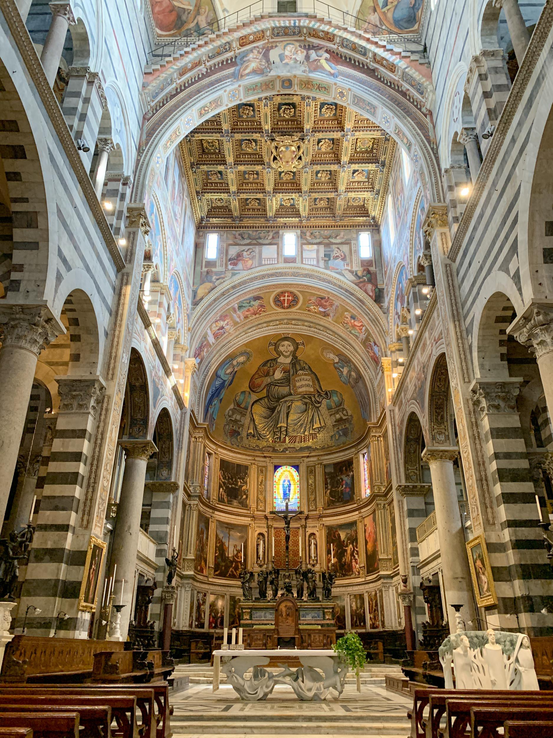 Interior of Pisa Cathedral