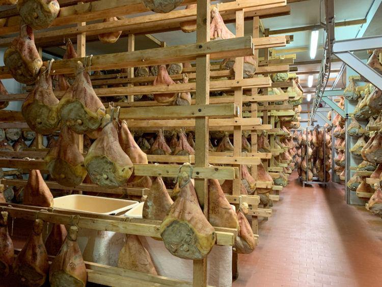 Prosciutto factory
