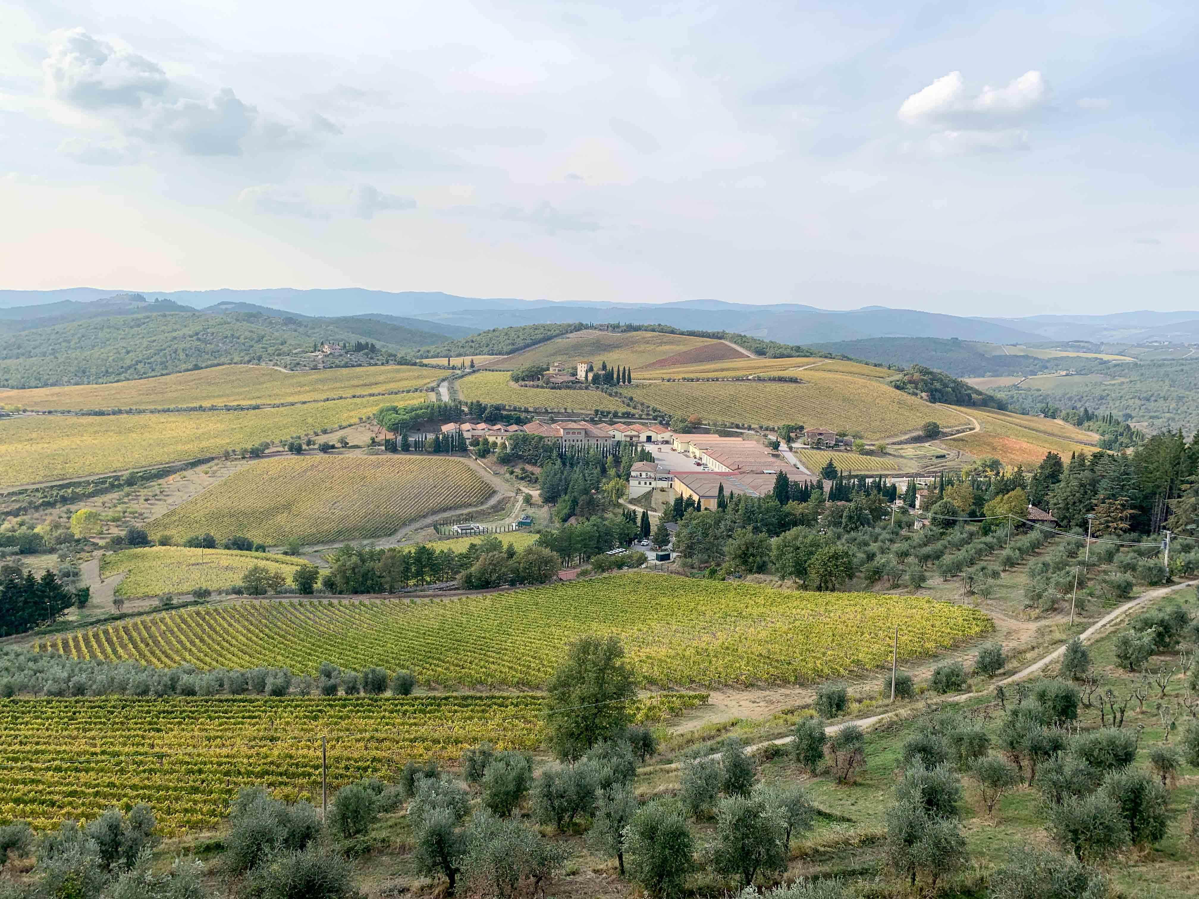 View from Castello di Brolio