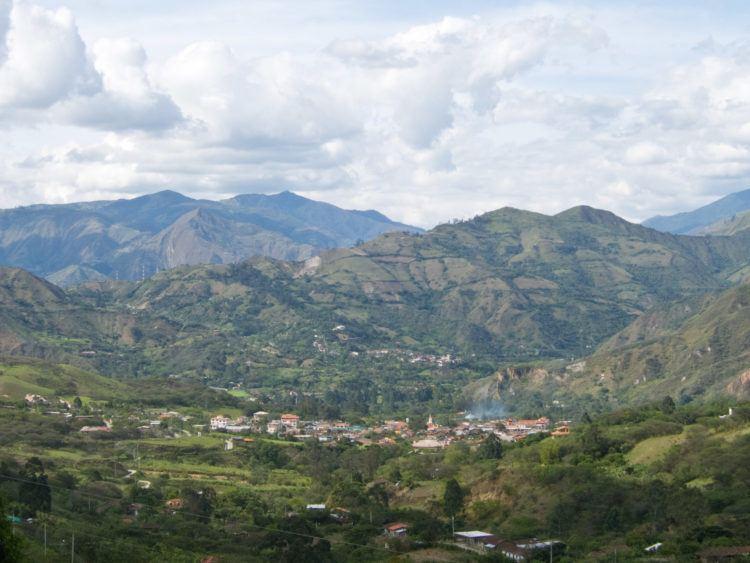 The pueblo of Vilcabamba in a highlight of southern Ecuador