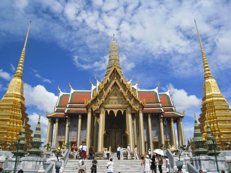 The Grand Palace is one of many things to do in Bangkok, Thailand