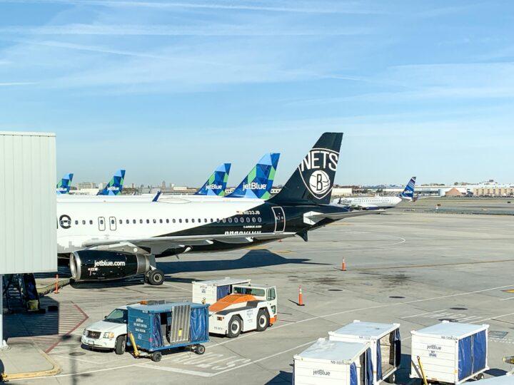 Awaiting my free JetBlue flight from NYC to Austin