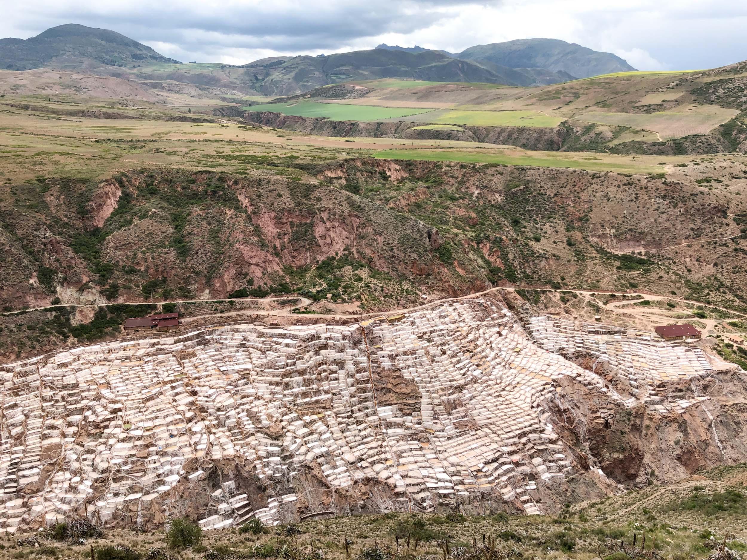 Las Salineras (salt mines)