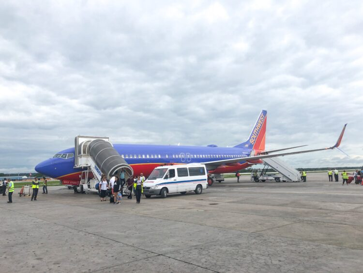 My roundtrip Southwest flights to/from Cuba helped me earn almost 3,000 points thanks to travel hacking