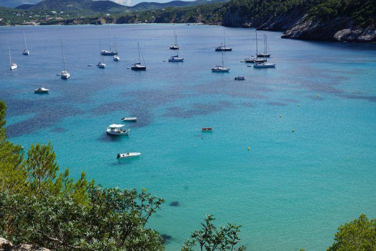 Yachts in Ibiza