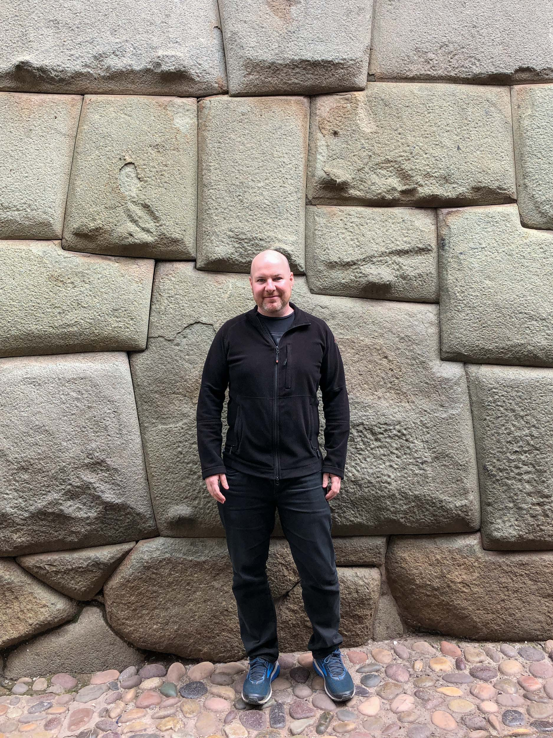 12-sided Inca stone