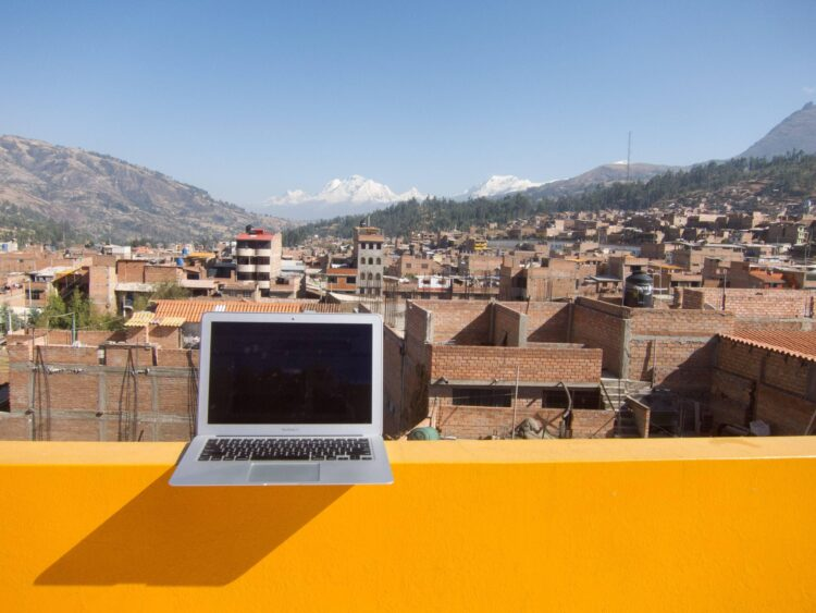 The MacBook Air is perhaps the best travel laptop