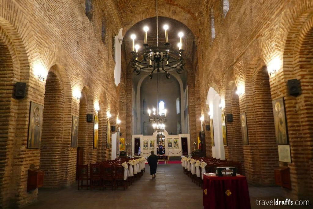 Interior of Saint Sofia Church, Bulgaria