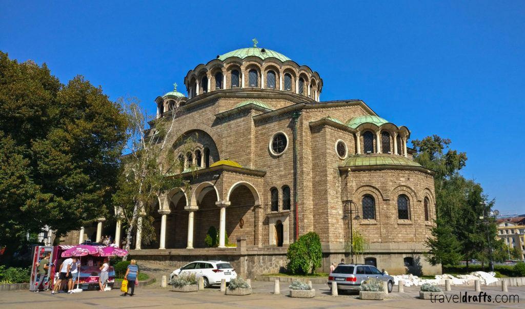 St. Kyriaki Cathedral Church in Sofia