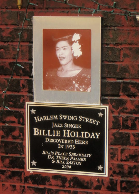 Billie Holiday in Harlem