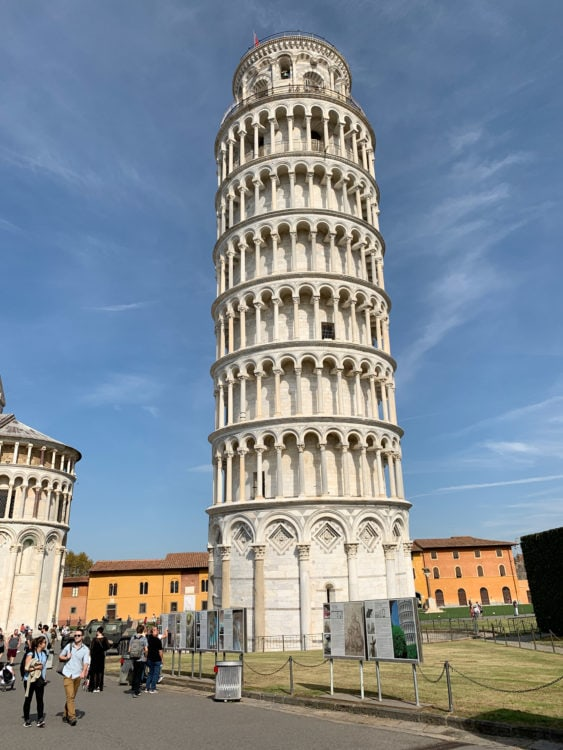 Visiting the Leaning Tower of Pisa