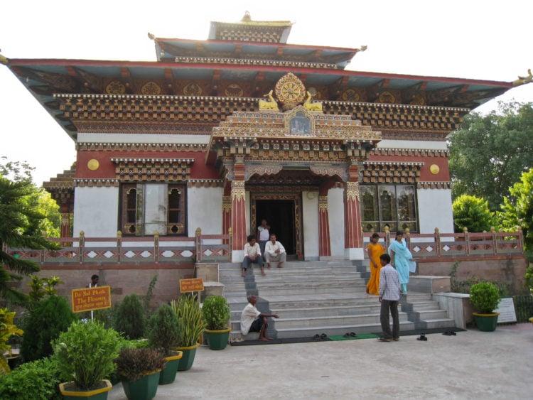 Bhutanese Monastery in Bodhgaya, India