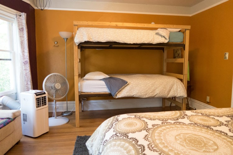 What is a hostel? Hostels differ from hotels in that they use shared dorm-style rooms.