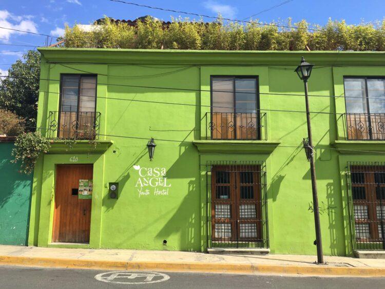 Casa Angel hostel, Oaxaca Mexico