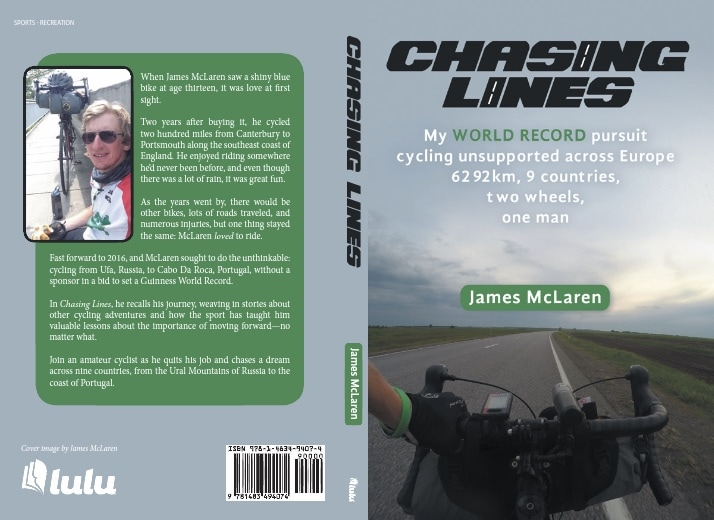 Chasing Lines book jacket