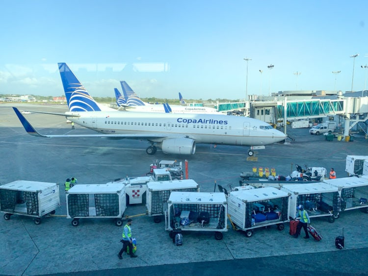 Copa Airlines at Tampa Bay airport