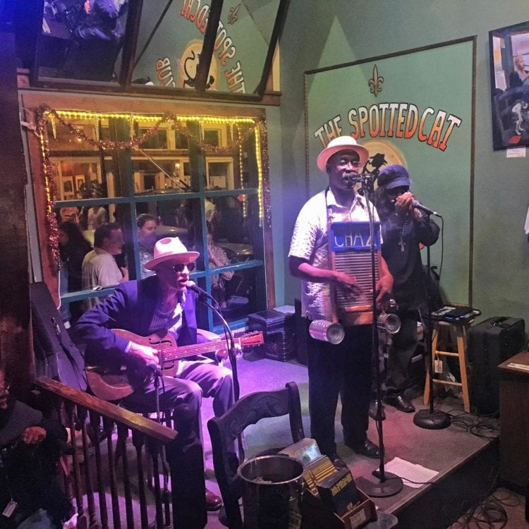 Frenchmen Street musicians