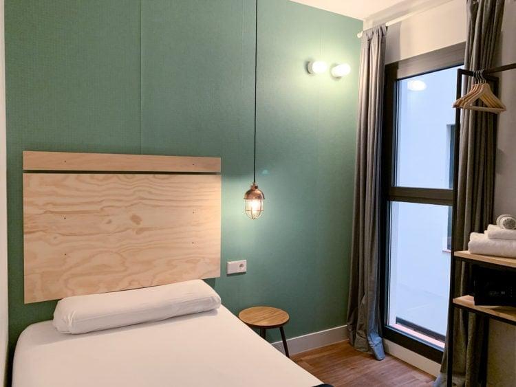 Hotel room in Barcelona